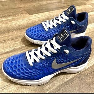 Nike zoom blue running sneakers shoes 7.5